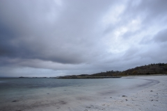 Approaching weather front, Traigh House Beaches