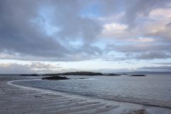 Southwards view, Traigh House Beaches