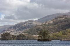 The islands of Loch Eilt