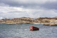 The red boat, Ru peninsula