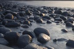 Cannonball boulders, Embleton Sands