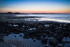 After sunset, Embleton Sands