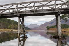 The bridge, Loch Affric