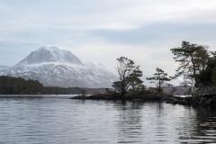 Slioch and Eilean Subhainn, Loch Maree